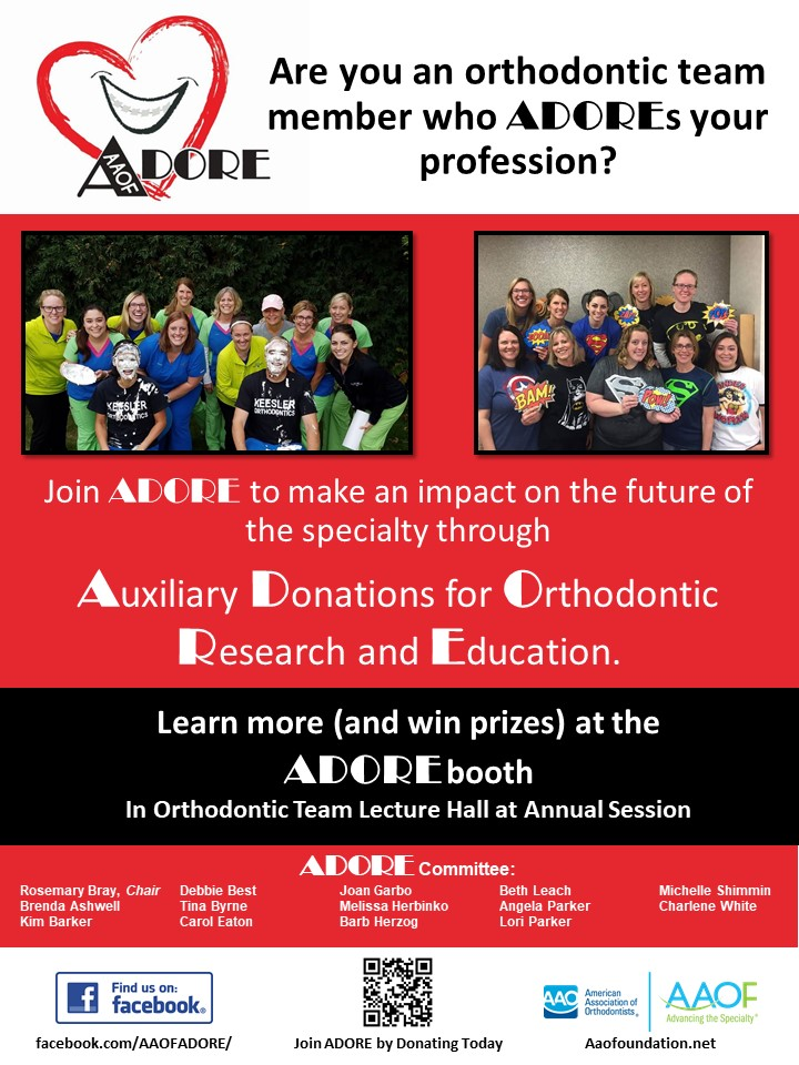 ADORE Full Page Flyer with committee
